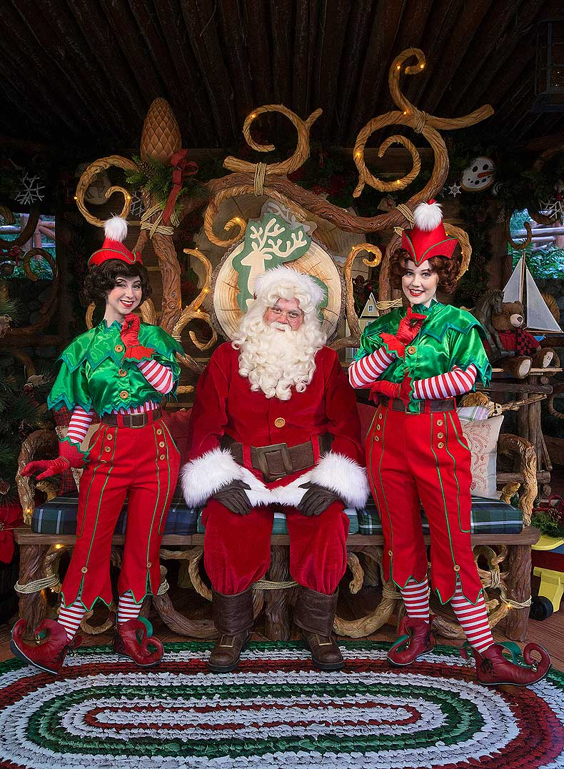 Santa at Disney California Adventure