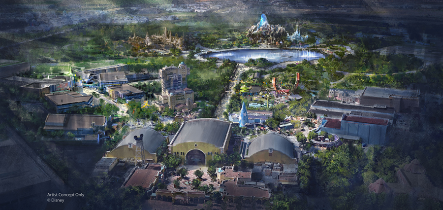 Disneyland Paris Announcement