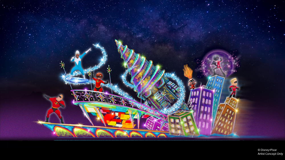 Paint the Night - Incredibles Float
