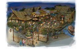 Aladdin's Oasis to become The Tropical Hideaway at Disneyland