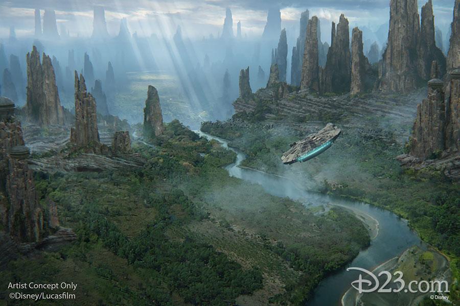 Disneyland and Walt Disney World's Star Wars: Galaxy's Edge